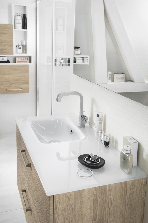 Plan vasque verre  DELPHA