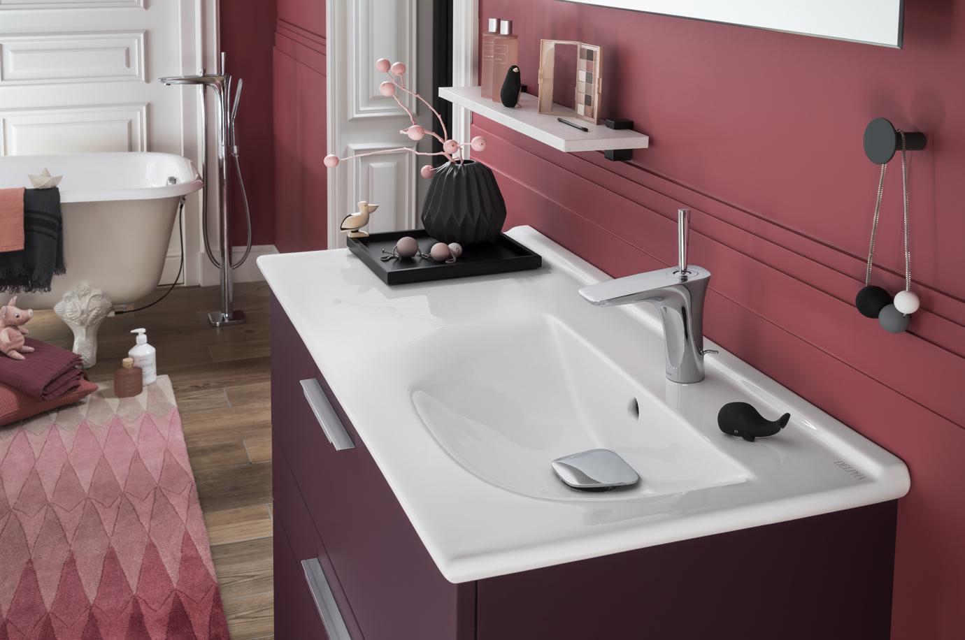 Plan vasque Céramique  DELPHA